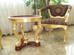 закупка золотой мебели
