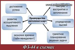 ФЗ 44 в схемах